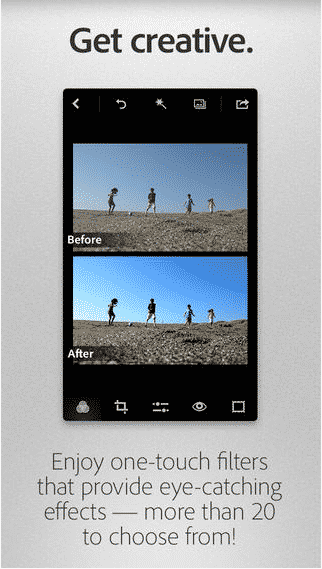 Adobe Photoshop Express on the App Store on iTunes