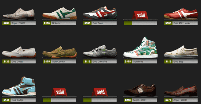Shoe Guru example