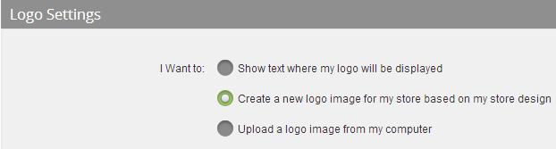 Creating Logo Image