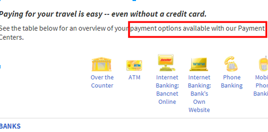Alternative Payment Options