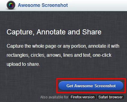 Awesome Screenshot Download