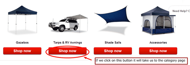Category page example