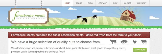 Farmhouse Meats example