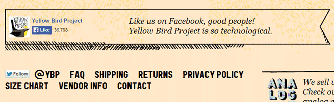 Yellow Bird Social Media