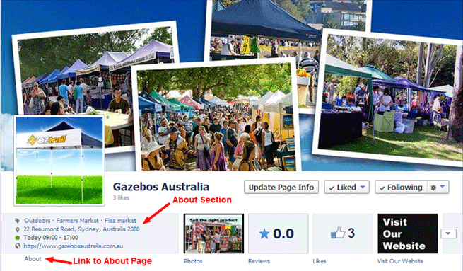 Gazebos Australia's About Page