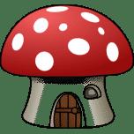 Mushroom House Favicon