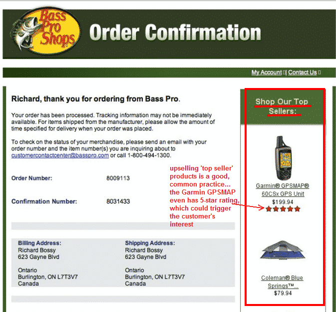 How To Add Upsell Links To Order Confirmation Emails