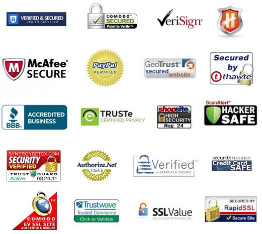 eCommerce trustmarks
