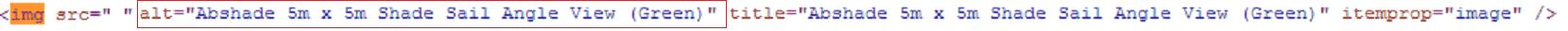 Alt tags with desirable keywords