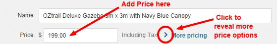 Add price
