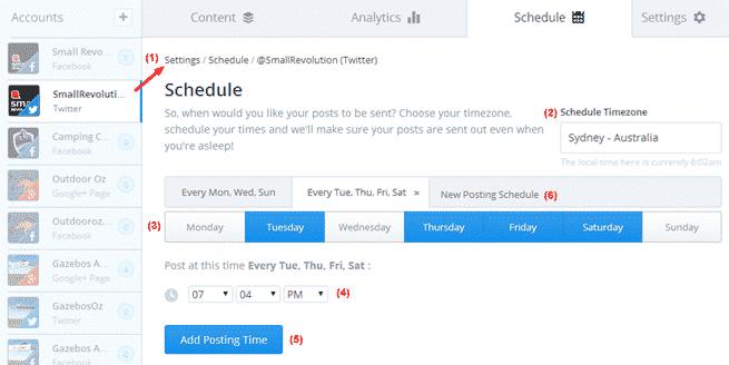 Buffer Scheduling