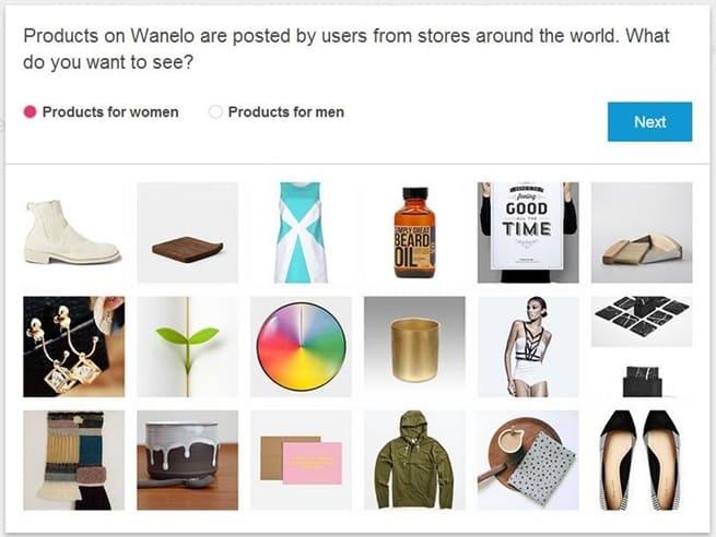 Wanelo products