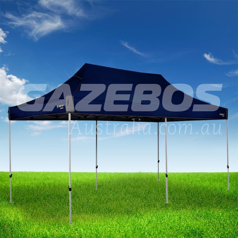 gazebo with black canopy
