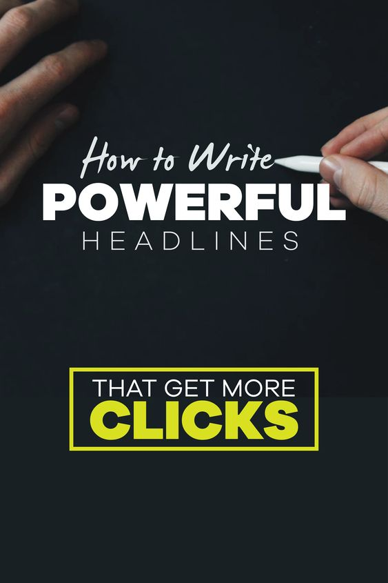 How to write power headline that get more clicks