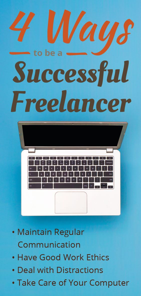 4 Ways to be a successful freelancer