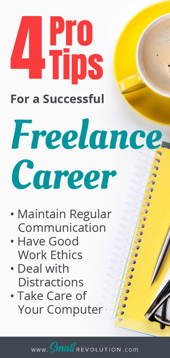 4 Pro tips for a successful freelance career