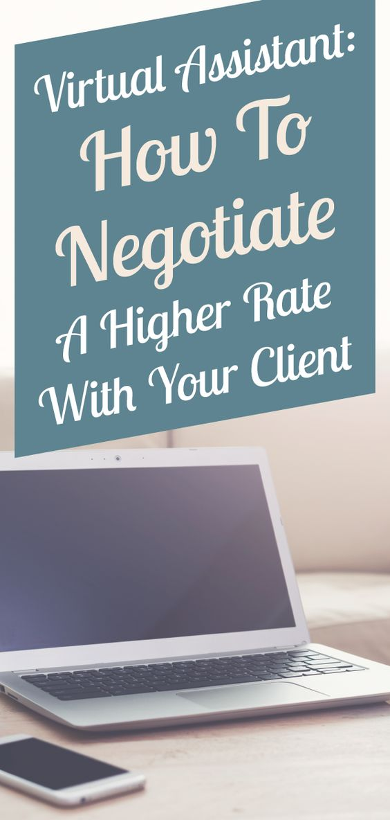 How to set a higher rate with your client