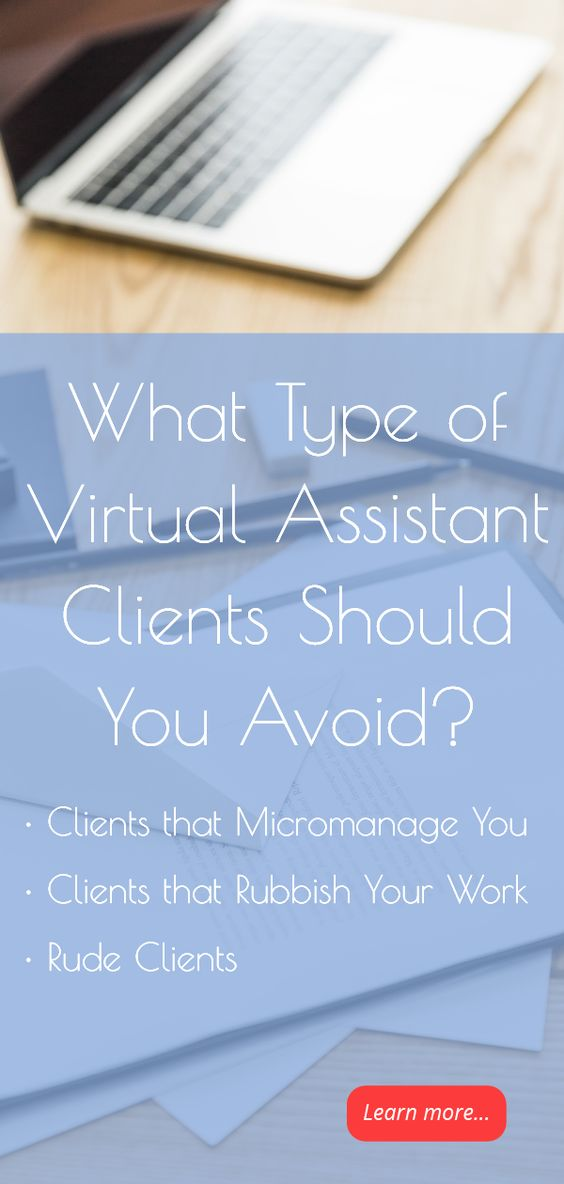 type of virtual assistant clients should avoid