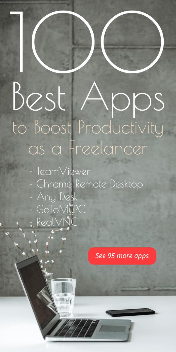100 Best Apps for Freelancers | Small Revolution