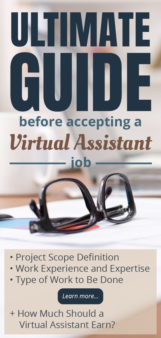Ultimate guide before accepting a Virtual Assistant job