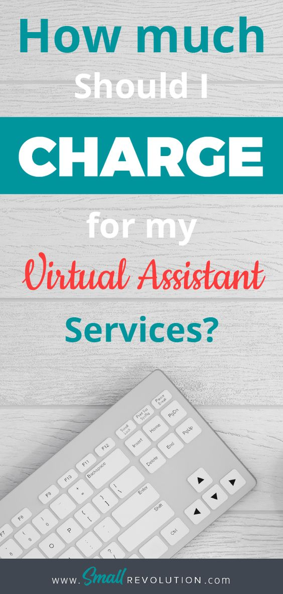 How much should I earn for Virtual Assistant Services