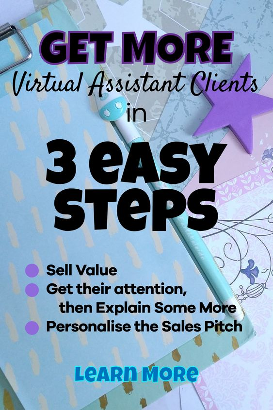 Get more virtual assistant clients in 3 easy steps