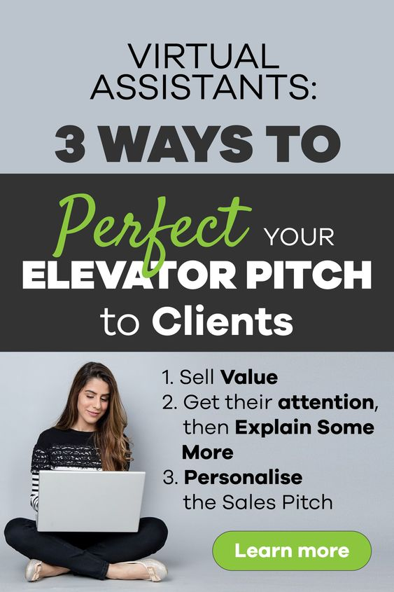 3 ways to perfect elevator pitch to clients