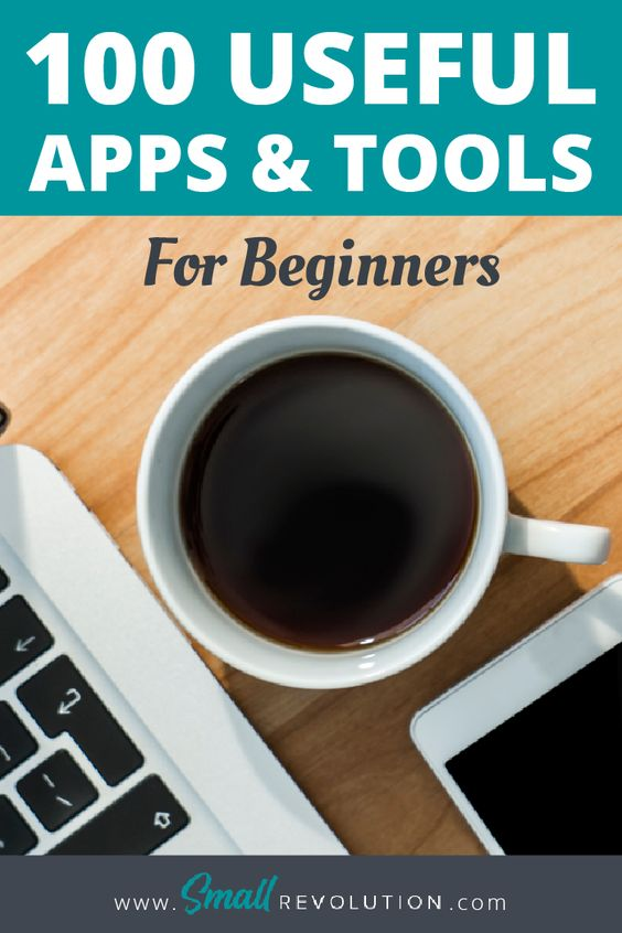 100 useful apps and tools for beginners