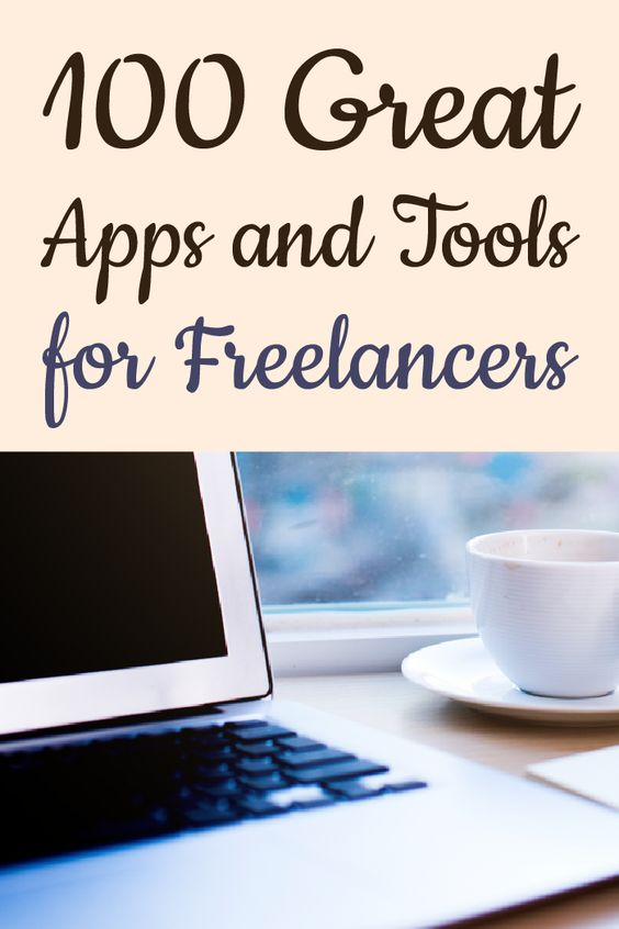 100 great apps and tools for freelancers