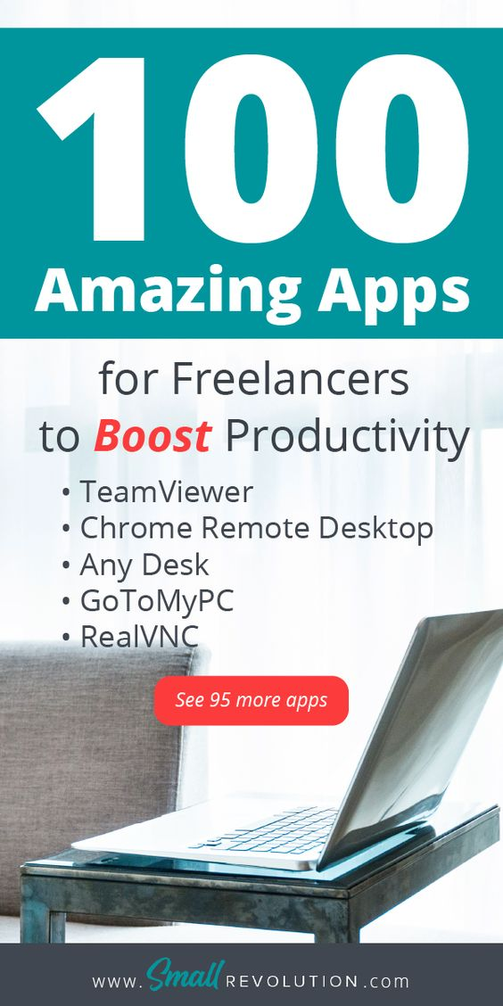 100 amazing apps for freelancers to boost productivity