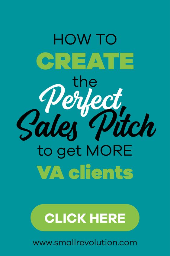 How to create the perfect sales pitch to VA clients