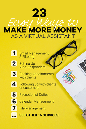 23 ways to make more money as a virtual assistant