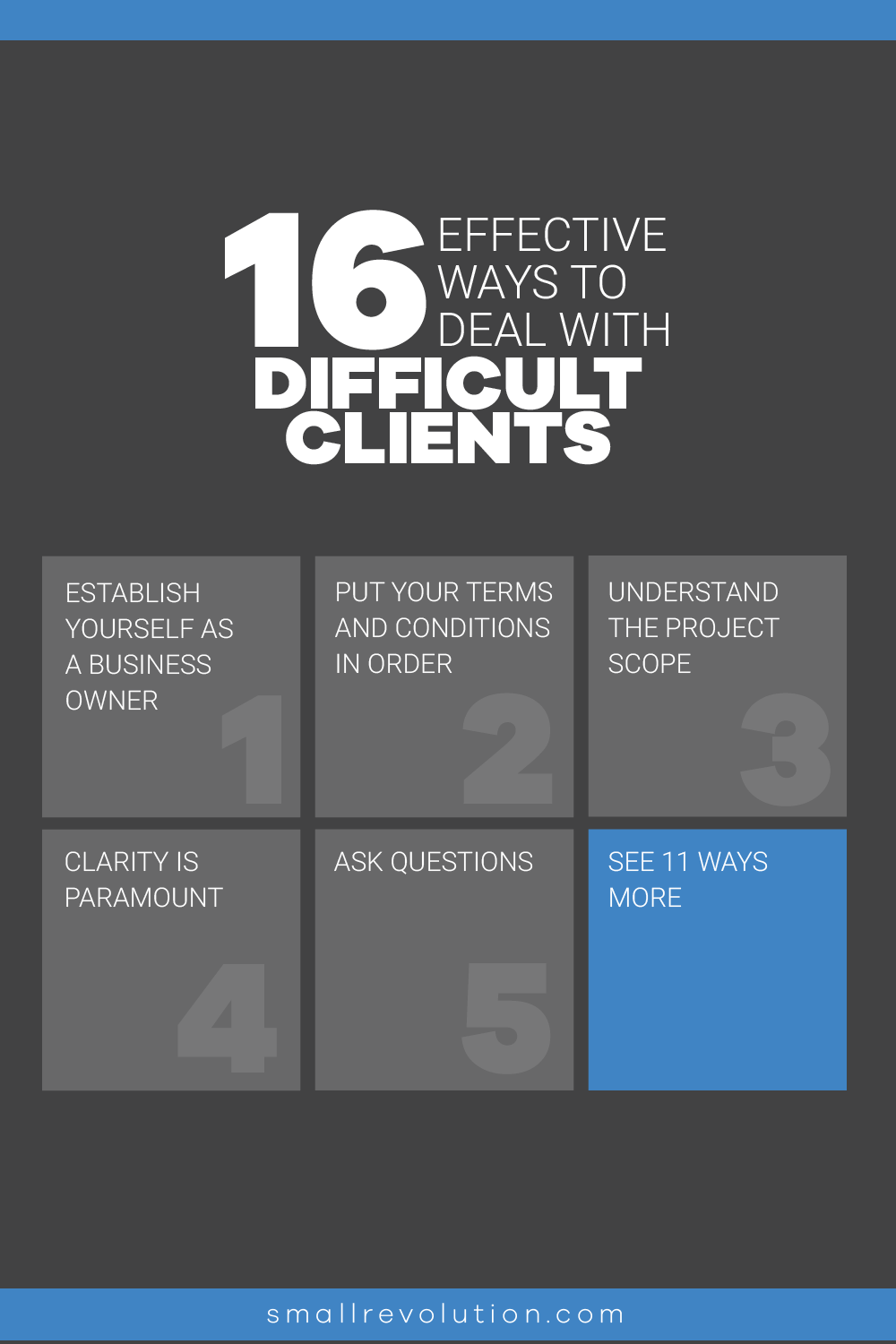 16 effective ways to deal with difficult clients