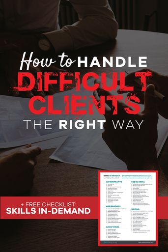 How to Handle Difficult Clients The Right Way