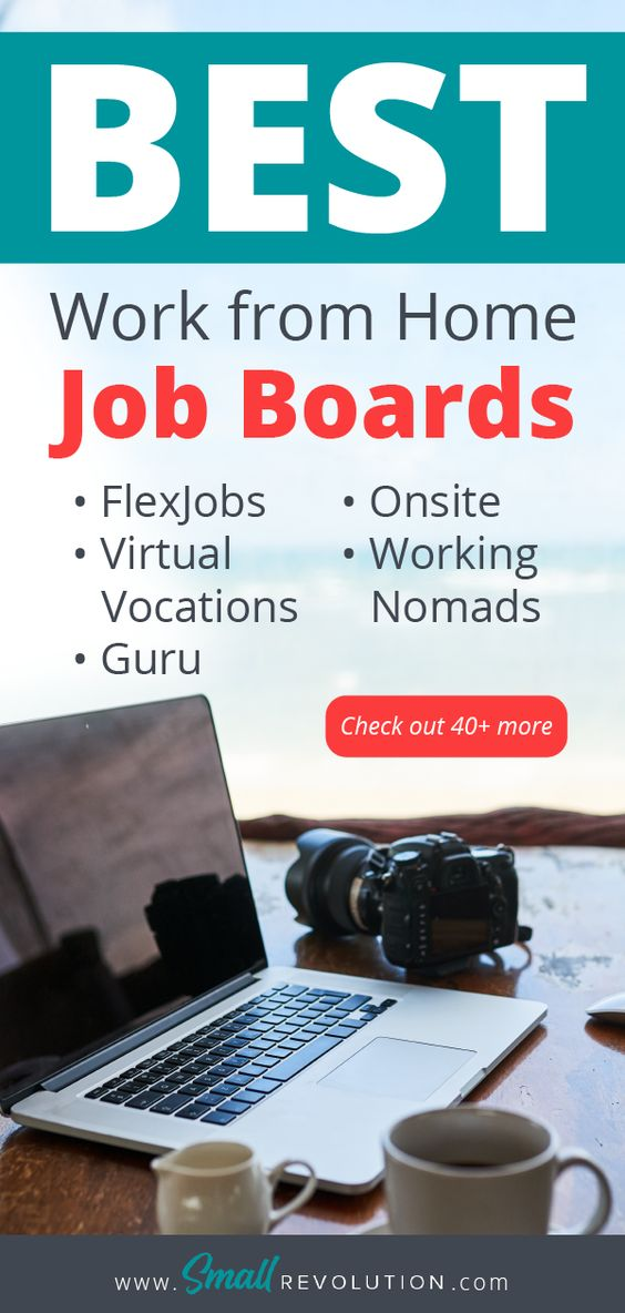 Best work from home job boards