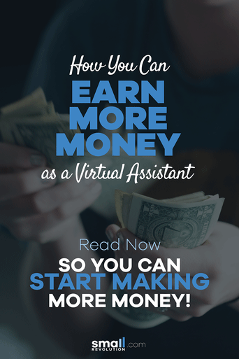How you can earn more money as a virtual assistant