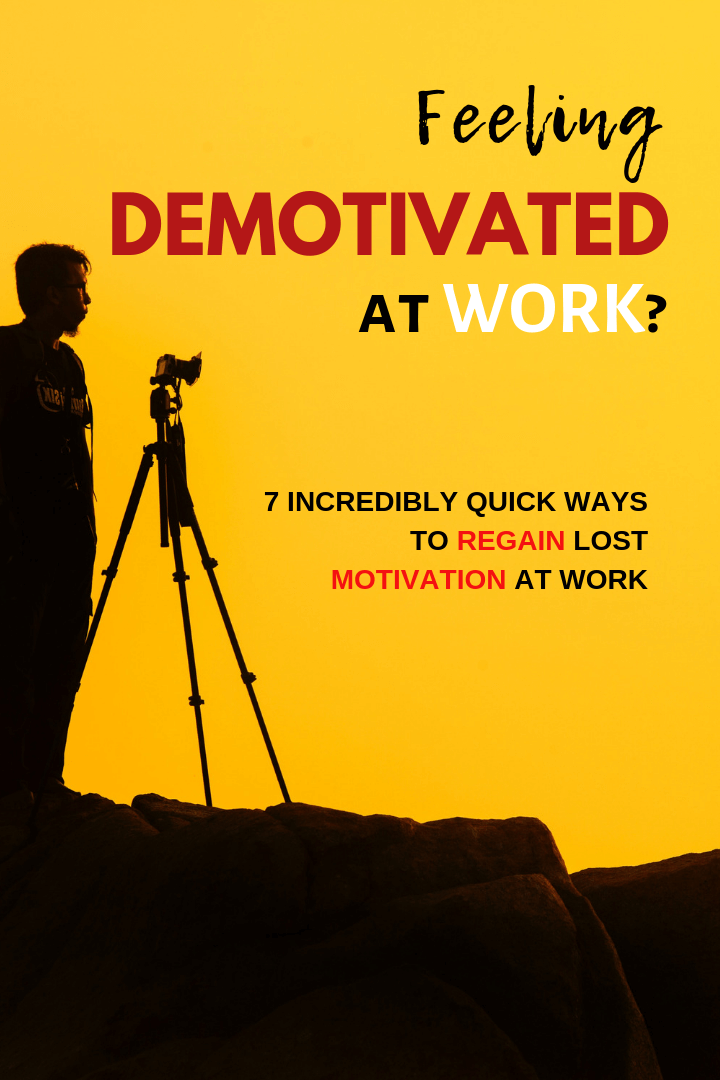 Feeling Demotivated at Work?
