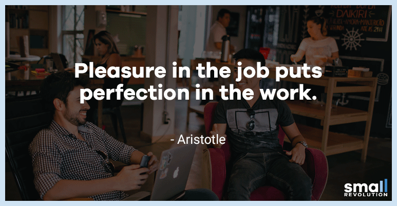 Aristotle motivational quote
