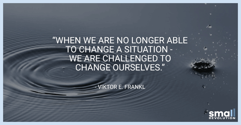 Viktor E. Frankl motivational quote