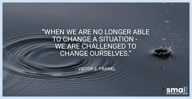 Viktor E. Frankl motivational quote