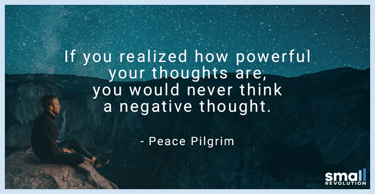 Peace Pilgrim motivational quote