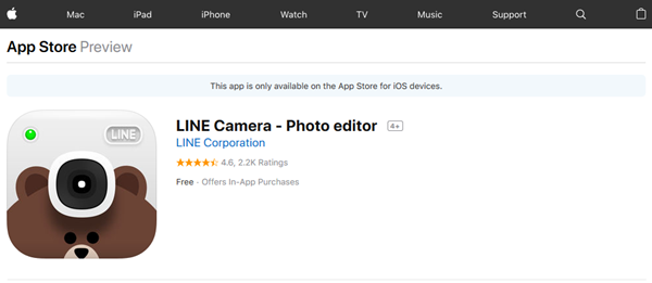 LINE camera on the App Store on iTunes