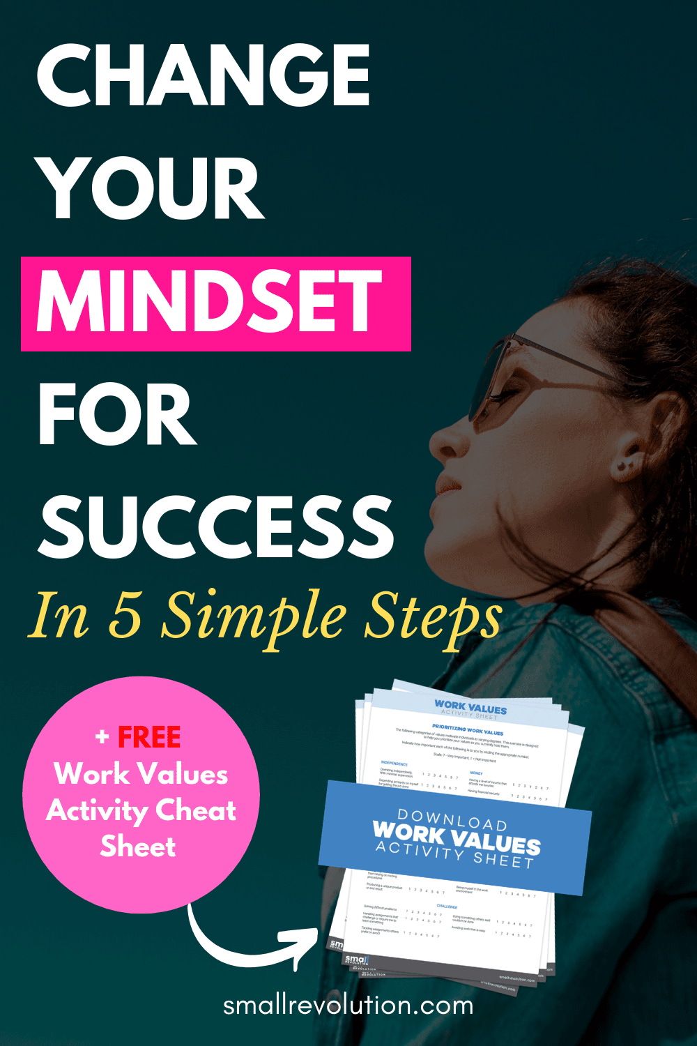 Change Your Mindset for Success in 5 Simple Steps