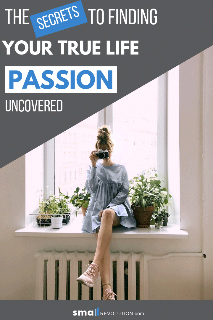 The Secrets to Finding Your True Life Passion Uncovered