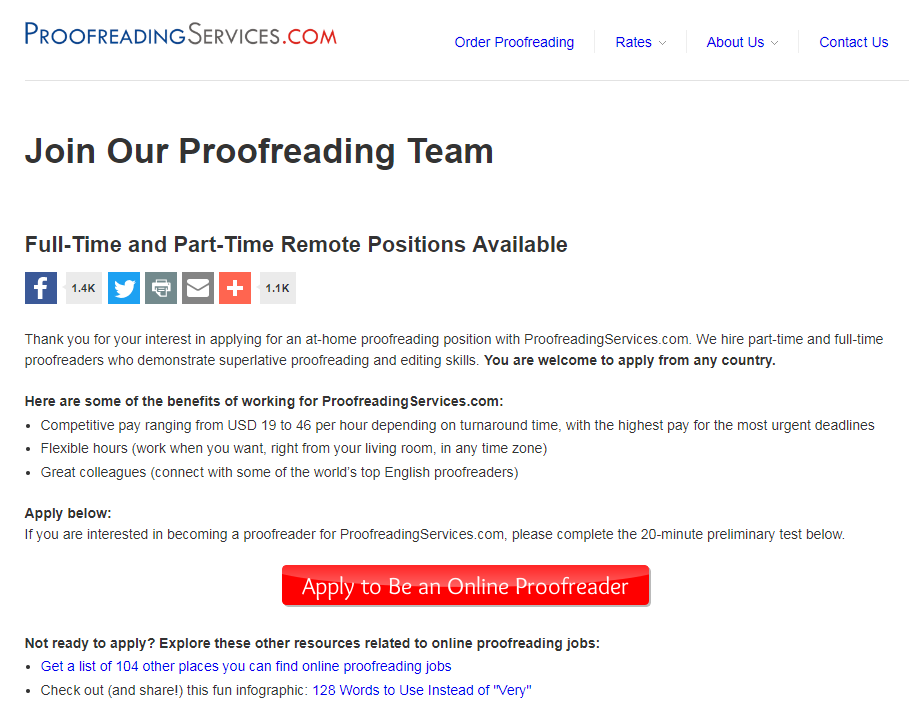 Trusted Websites for Beginner Online Proofreading Jobs