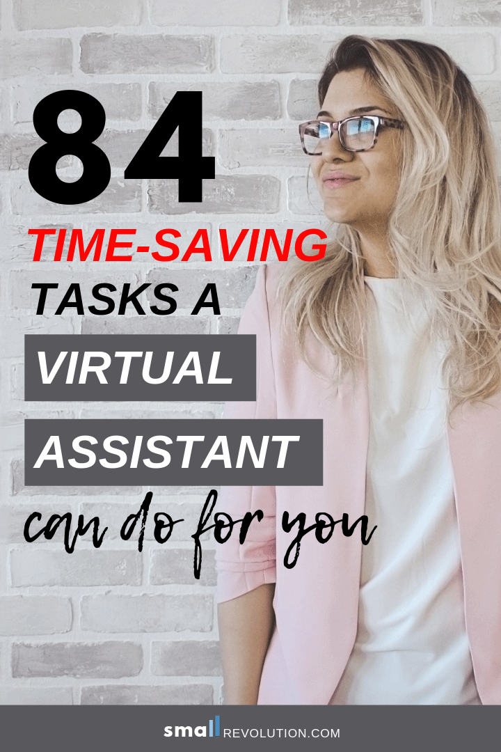 84 Time-Saving Tasks a Virtual Assistant Can Do For You