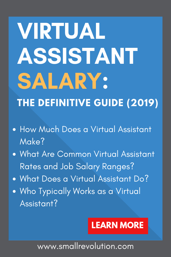 Virtual Assistant Salary: The Definitive Guide