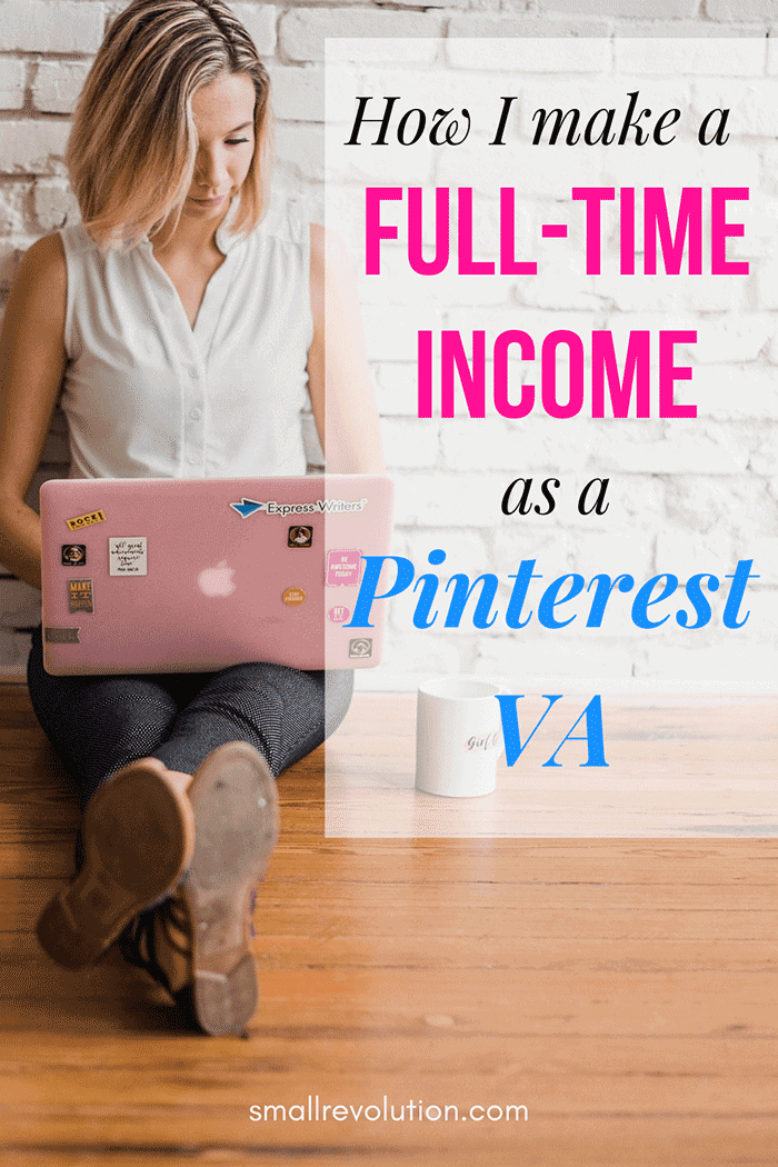 How I make a full-time income as a Pinterest VA