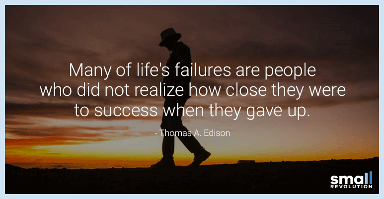 Thomas A. Edison quote on work motivation and success