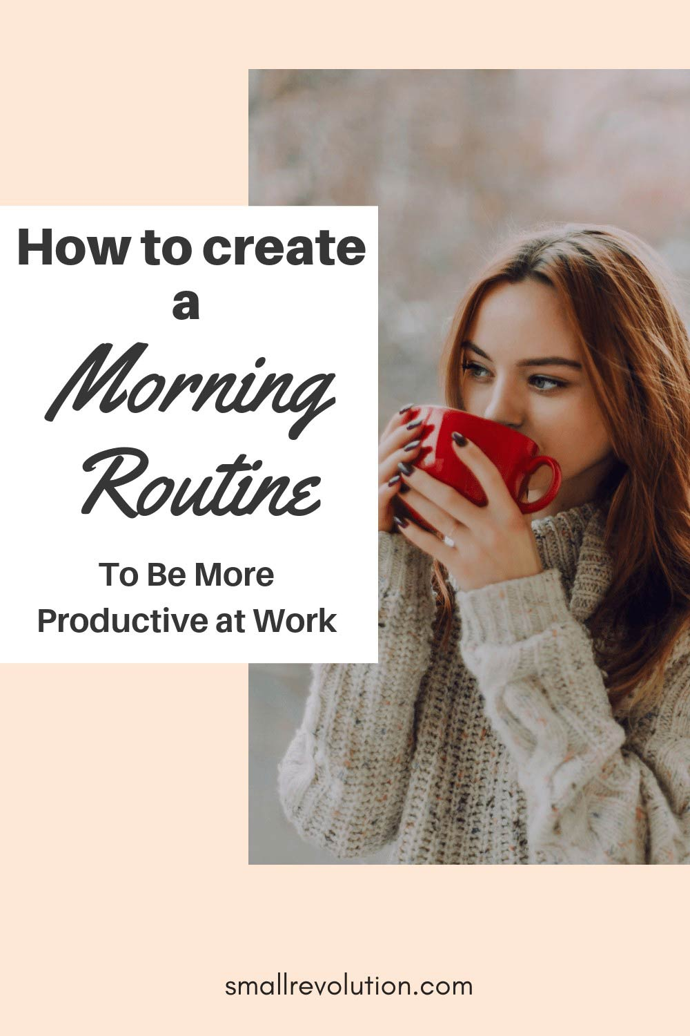 How to create a morning routine to be more productive at work